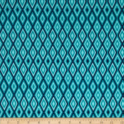 Riley Blake La Vie Boheme Stitch Teal