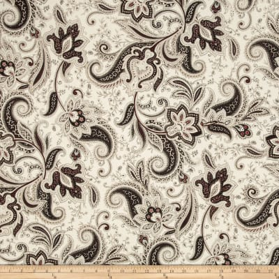 Imperial Paisley Black