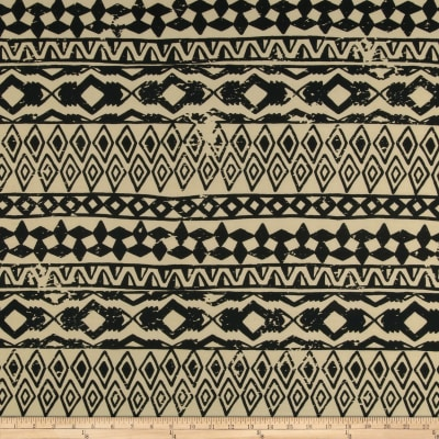 ITY Knit Aztec Cream/Black