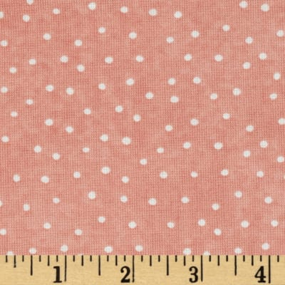 Up and Away Dinky Dots Coral