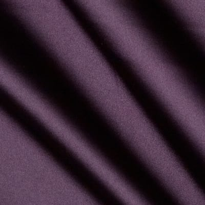 Stretch Satin Dark Purple