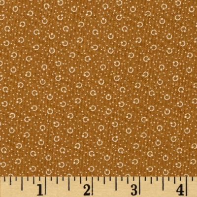 Molly B's 1800's Simply Harvest Dot Texture Tan