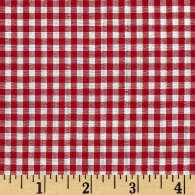 "Imperial 60"" Gingham 1/8"" Red"
