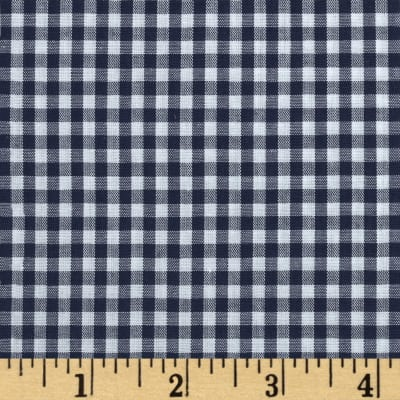"Imperial 60"" Gingham 1/8"" Navy"