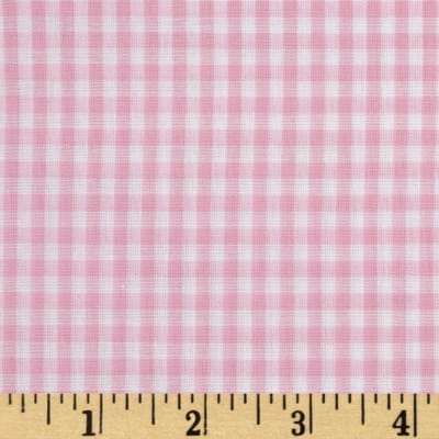 "Imperial 60"" Gingham 1/8"" Light Pink"