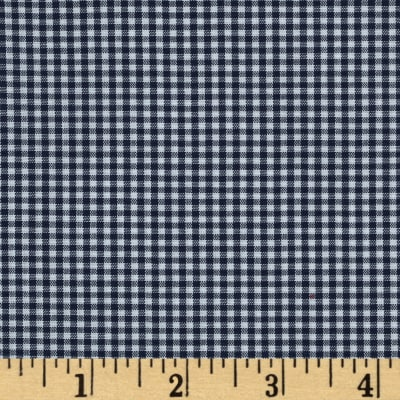 "Imperial 60"" Gingham 1/16"" Navy"