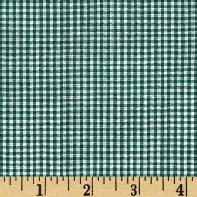 "Imperial 60"" Gingham 1/16"" Hunter"