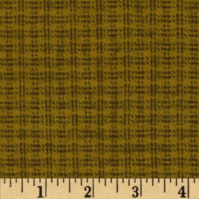 Primo Plaids Flannel Small Plaid Olive Green/Black