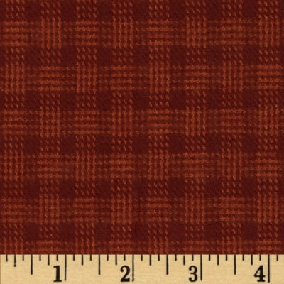 Primo Plaids Flannel Plaid Red/Orange