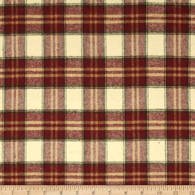 Primo Plaids Flannel Christmas II Plaid Gold/Green/Red