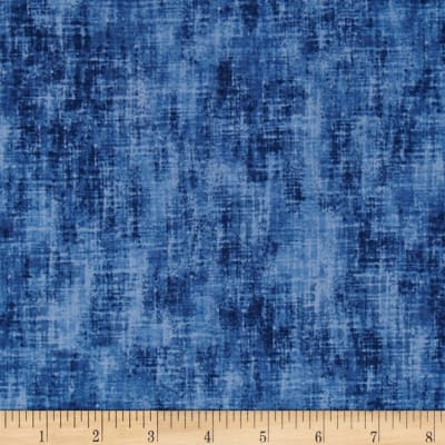 Timeless Treasures Studio Brushed Linen Texture Blue