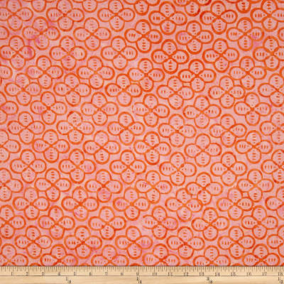 Timeless Treasures Tonga Batik Pashmina Quatrefoil Kiss