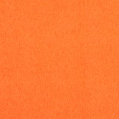 Fabric Merchants Warm Winter Fleece Solid Orange