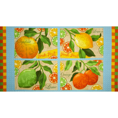 Citrus Grove 24 In. Citrus Placemat Panel