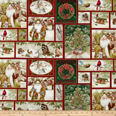 Old World Christmas Old World Patch Metallic Gold Detail MGMul1