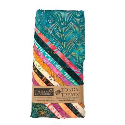 Timeless Treasures Tonga Batik Pashmina Fat Quarter Bundles