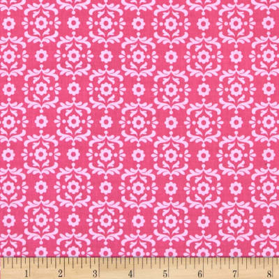 Riley Blake Summer Song 2 Damask Pink