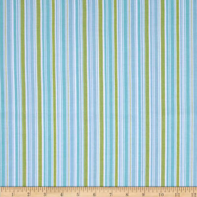 Riley Blake Summer Song 2 Stripe Blue