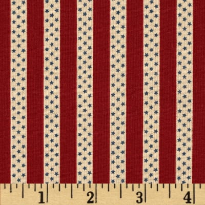 Penny Rose Americana Stripe Red