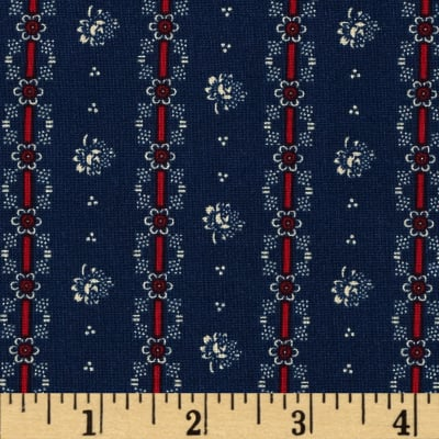 Penny Rose Americana Floral Navy