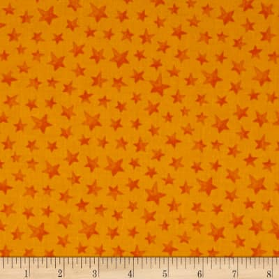 Happy Haunting Stars Orange