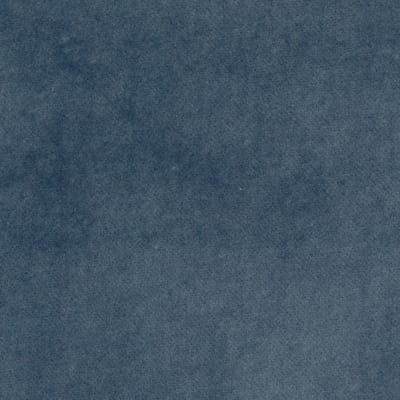 100% Cotton Anti-Crush Velvet Faded Blue