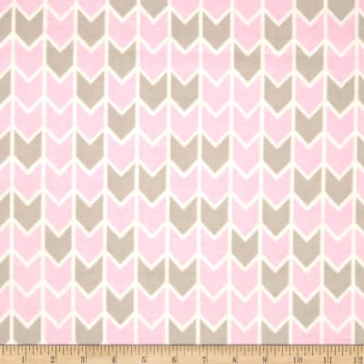 Concord House Flannel Harper Down Arrows Pink