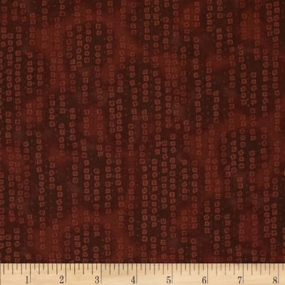 Tribal Instincts Ditzies Abstract Dark Brown
