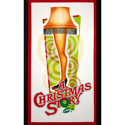 A Christmas Story 24 In. Panel White