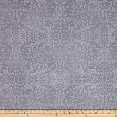 Holiday Elegance Damask Gray