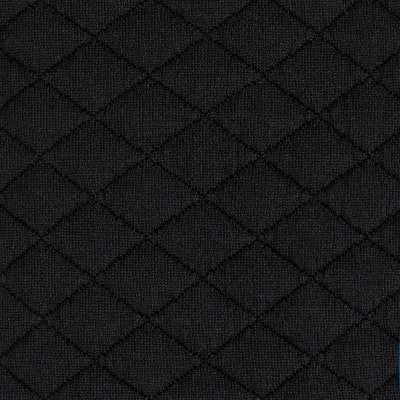 Telio Sweden Quilt Knit Solid Black