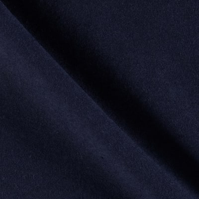 Fabric Merchants Cotton Lycra Spandex Jersey Knit Navy