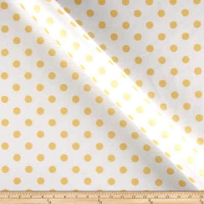 RCA Polka Dots Sheers Lemon