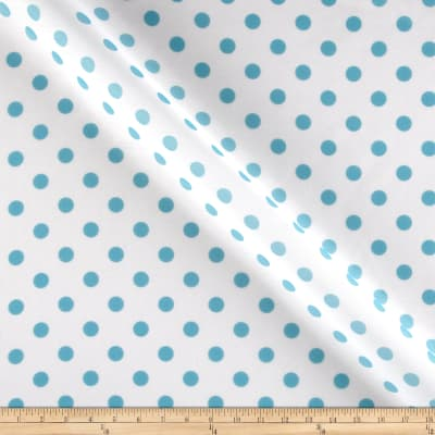 RCA Polka Dots Sheers Capri Blue