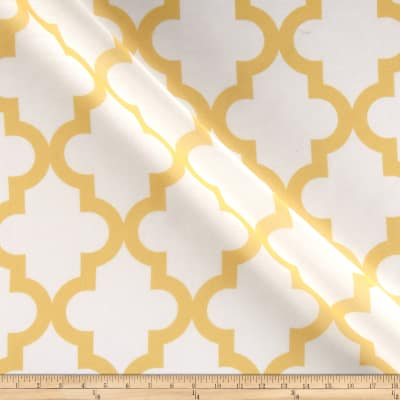 RCA Trellis Sheers Lemon