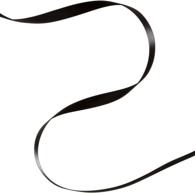 "3/8"" Offray Double Face Satin Ribbon Black"