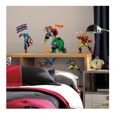 Marvel Character  Wall Wall Decals