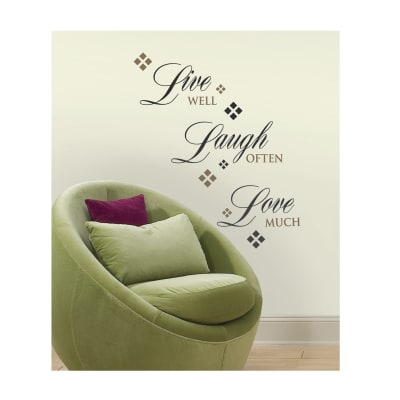 Live Laugh Love Wall Decals