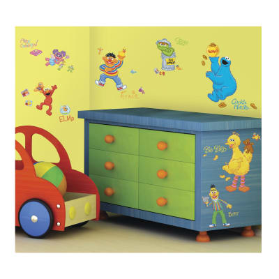 Sesame Street Wall Decals