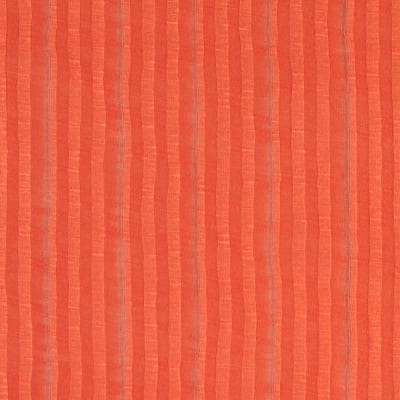 Tissue Rayon Rib Knit Tropic Orange