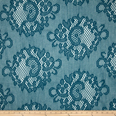 Crochet Lace Turquoise