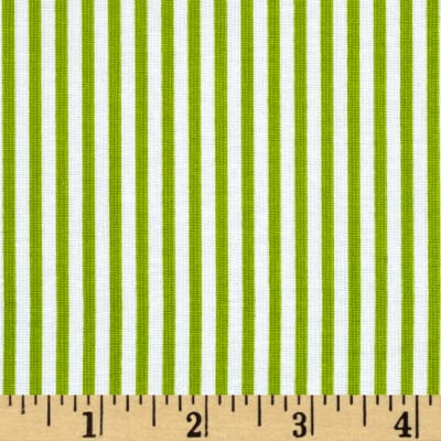 Riley Blake Merry Matryoshka Stripe Green