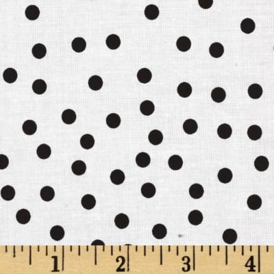 Riley Blake Parisian Dot White