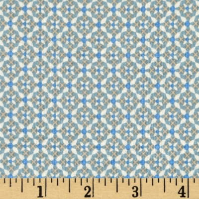 Penny Rose Forget Me Not Criss Cross Blue