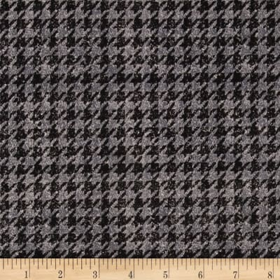Penny Rose Menswear Houndstooth Gray