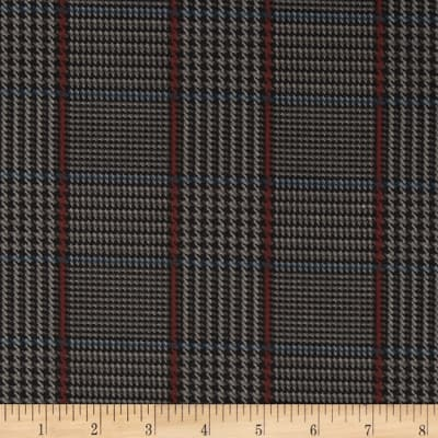 Penny Rose Menswear Plaid Gray