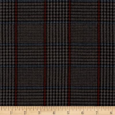 Penny Rose Menswear Flannel  Plaid Gray