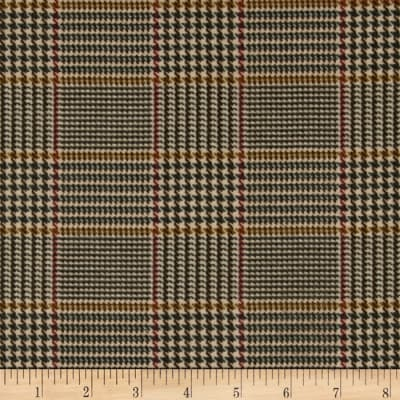 Penny Rose Menswear Flannel  Plaid Tan