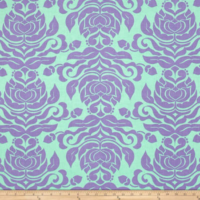 Riley Blake Extravaganza Damask Purple