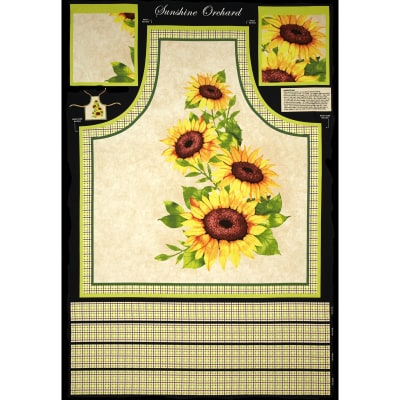 Sunshine Orchard Apron Panel Multi